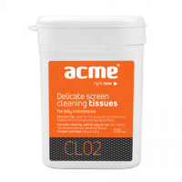 Acme CL02 Screen Cleaning Wipes 100pcs LED/LCD/Plasma screens cleaning wipes