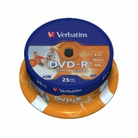 Verbatim DVD-R AZO Wide Printable  4.7 GB
