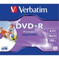 Verbatim DVD+R AZO Wide Printable 4.7 GB