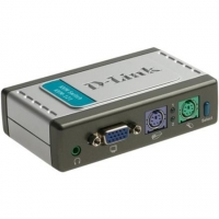 D-Link KVM-121 2-Port PS/2 KVM Switch with Audio Support KVM(Keyboard/Video/Mouse) Switch