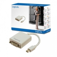 Logilink Adapter Mini Display Port TO DVI Converter: DVI-I FM