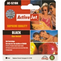 Action ActiveJet ACC-521BN (Canon CLI-521Bk) Ink Cartridge