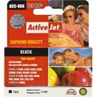 Action ActiiveJet ACC-8BN (Canon CLI-8Bk)  Ink Cartridge