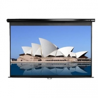 Elite Screens Manual Series M128UWX Diagonal 128 ""