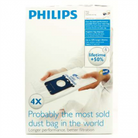 Philips disposable dust bag FC8021/03 Dust Bag 4pcs