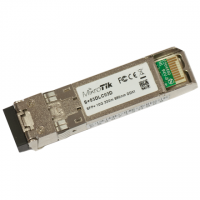 MikroTik 10G SFP+ transceiver with a 850nm LC connector S+85DLC03D 300 m