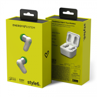 Energy Sistem Earphones Style 6 True Wireless White (True Wireless Stereo
