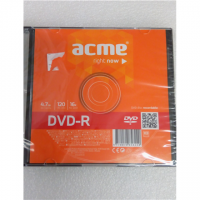 SALE OUT. ACME DVD-R 4.7GB 16X slim box DAMAGED PACKAGING Acme DVD-R 4.7 GB